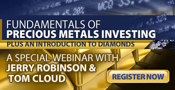 "Free Webinar: ""The Fundamentals of Precious Metals Investing"" – Register Now!"
